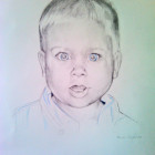 """2012. Graphite and colored pencil, 24""""x 36"""" Portrait pricing and commision information available upon request"""