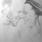 """2012, graphite and colored pencil. 24""""x 36"""" Portrait pricing and commision information available upon request"""