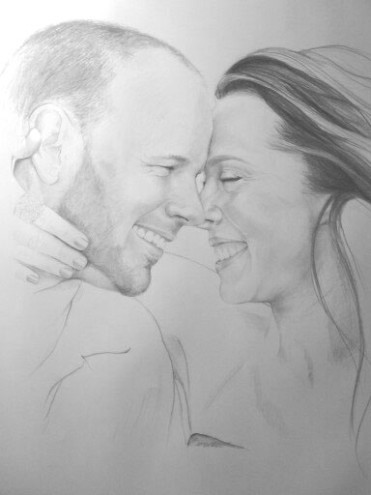"2012, graphite and colored pencil. 24""x 36"" Portrait pricing and commision information available upon request"